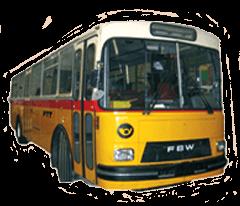 FBW 2 Schweizer Postbus