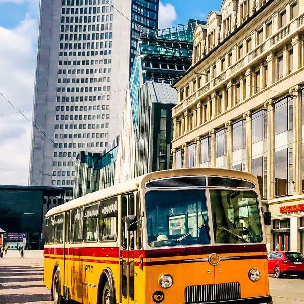 Oldie Fahrten Leipzig - Frautentagsfahrt - Oldtimer Bus