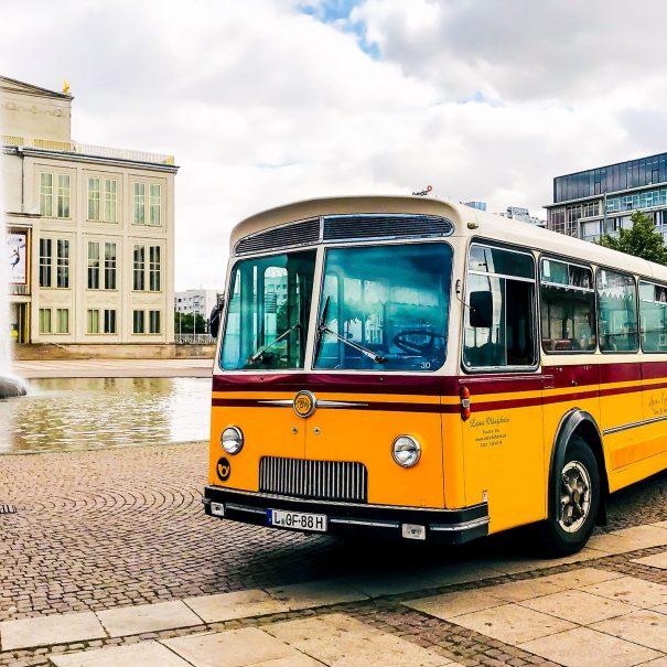 Oldie Fahrten Leipzig - Schwippsfahrt - Frauenausflug - Oldtimer Bus
